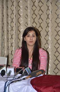 Actress Shilpa Shinde at Press Conference