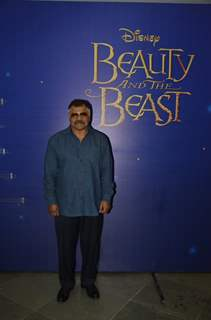 Sharat Saxena at Special Screening of 'Beauty and the Beast'