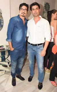 "Shawar Ali at Exclusive Launch of a New Store ""Kama Couture"""
