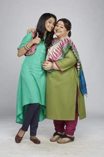 Supriya Shukla and Mugdha Chaphekar at Badi Door Se Aaye Hain