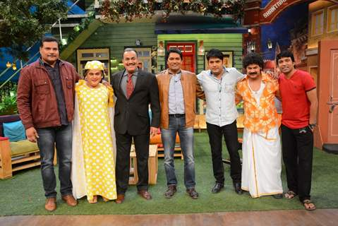 CID Serial Cast at The Kapil Sharma Show