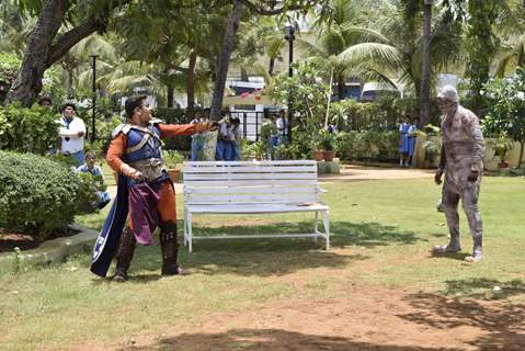 Baal Veer tryst with an Egyptian mummy