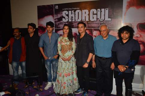 Eijaz Khan, Jimmy Shergill  and team at Film Launch of 'Shorgul'