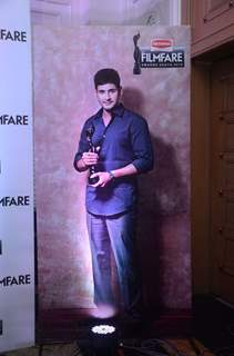Mahesh Babu's Standee at Press Meet of South Filmfare Awards 2016