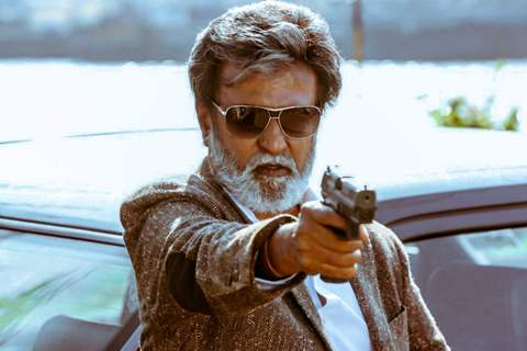 A Still of Rajinikanth from Kabali
