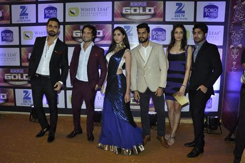 Zain Imam at Zee Gold Awards 2016
