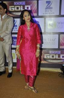 Disha Vakani at Zee Gold Awards 2016