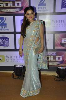 Kanika Maheshwari at Zee Gold Awards 2016