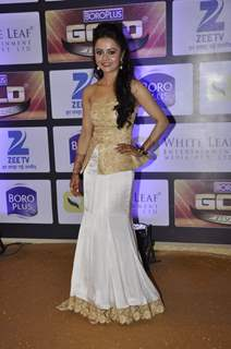 Devolina Bhattacharjee at Zee Gold Awards 2016
