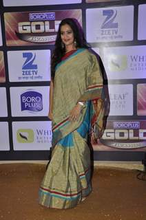 Jaswir Kaur at Zee Gold Awards 2016