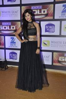 Kanchi Singh at Zee Gold Awards 2016