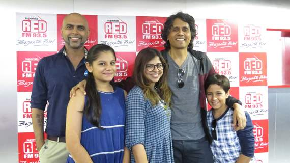 Star caste of upcoming film DHANAK visit Red FM for promotion of their upcoming movie