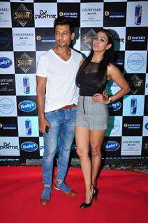 Indraneil Sengupta & Barkha Bisht Sengupta at Aftab Shivdasani's Bash for his new venture 'Saint'