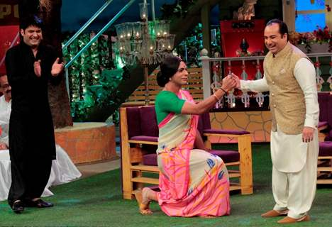 Rahat Fateh Ali Khan has a blast on The Kapil Sharma
