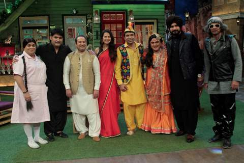Rahat Fateh Ali Khan at The Kapil Sharma