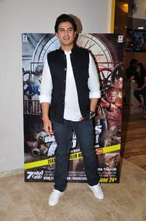 Shiv Pandit  at Promotion of film '7 Hours to go'