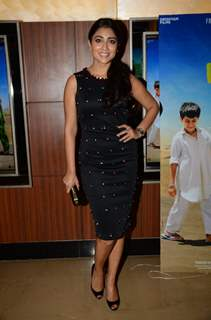 Shreya Saran at Special Screening of 'Dhanak'