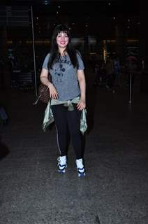 Ayesha Takia snapped at Airport