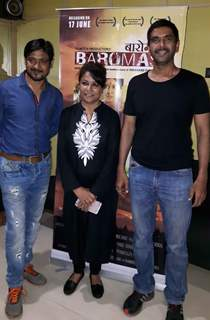 Seema Biswas and Rohit Pathak attends Baromas film Screening