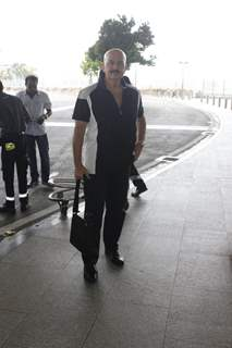 Rakesh Roshan Snapped While Leaving from Airport