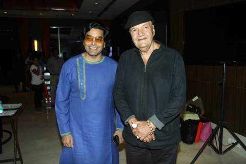 Ashutosh Rana & Prem Chopra at Launch of film 'Jeena Isi Ka Naam Hai of film 'Jeena Isi Ka Naam Hai'