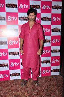 Akshay Dogra at Launch of &TV's New Serial 'Waaris'