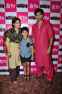 Aarti Singh and Akshay Dogra at Launch of &TV's New Serial 'Waaris'