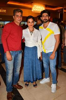Varun Badola and Hussain Kuwajerwala at Launch of film 'Love Ke Funday'