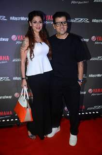 Bakhtiyaar Irani & Tanaaz Currim Irani at Rapper Badhshah's Razyr Mera Swag Song Launch