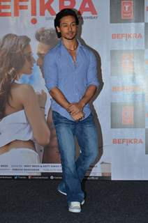 Actress Tiger Shroff at Music Launch of the film 'Befikre'