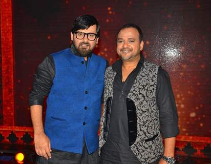 Sajid Ali and Wajid Ali at Promotions of 'Madaari' on ZEE TV - Sa Re Ga Ma Pa 2016