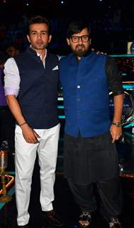 Wajid Ali and Jay Bhanushali Promotions of 'Madaari' on ZEE TV - Sa Re Ga Ma Pa 2016