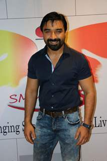 Ajaz Khan at Iftar party organized by NGO - SMMARDS.