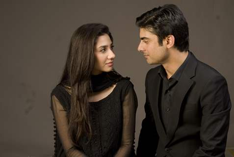 Mahira Khan and Fawad Khan in 'Humsafar'