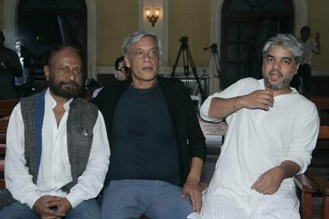 Sudhir Mishra and Ketan Mehta at launch of new project - Raag Desh