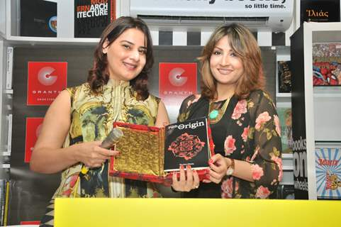 Urvashi Dholakia at Launch of Book by author 'Simmer Bhatia'- 'Path to Origin'