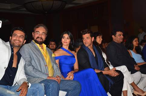 Sharad Kelkar, Kabir Bedi, Hrithik Roshan, Pooja Hegde at Introducing 'Chaani' Event of Mohenjo Daro