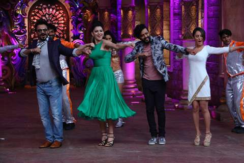 Riteish, Urvashi, Vivek and Pooja Promotes 'Great Grand Masti' on 'Comedy Nights Bachao'