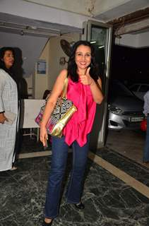 Suchitra Krishnamurthy at Premiere of Satish Kaushik's play Mr and Mrs Murarilal