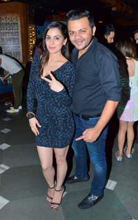 Shraddha Arya at birthday celebration of Kunal Verma at R- ADDA