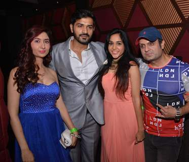 DJ Sheizwood, Mrunal and Sweety jain celebrating Launch of the music video album & Birthday bash!