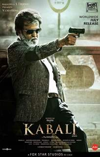 Poster of 'Kabali' starring Rajinikanth