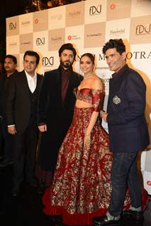 Fawad Khan and Deepika Padukone at Manish Malhotra's Fashion Show