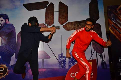 Action time! Ranveer Singh and Anil Kapoor at Special Screening of film '24 Season 2'
