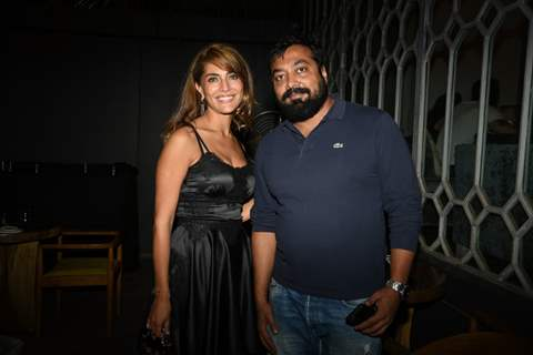 Caterina Murino and Anurag Kashyap at 'Fever' Bash!