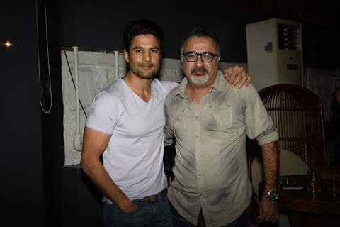 Rajeev Khandelwal and Ajay Chabbria  At 'Fever' Bash!