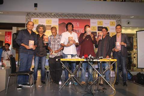 Kay Kay Menon, Makarand Deshpande and Ashutosh Gowarikar at Raj Supe's  book launch