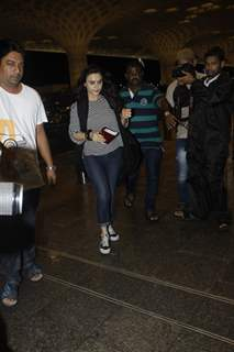 Preity Zinta spotted at airport!