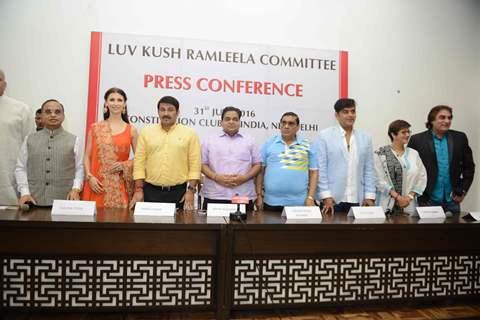 Celebs at the Press confrence of Luv Kush biggest Ram Leela at Constitutional Club