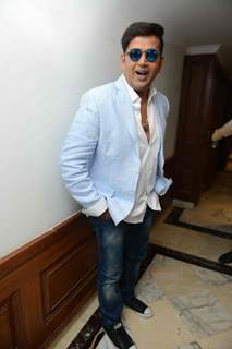 Ravi Kissen at the Press confrence of Luv Kush biggest Ram Leela at Constitutional Club